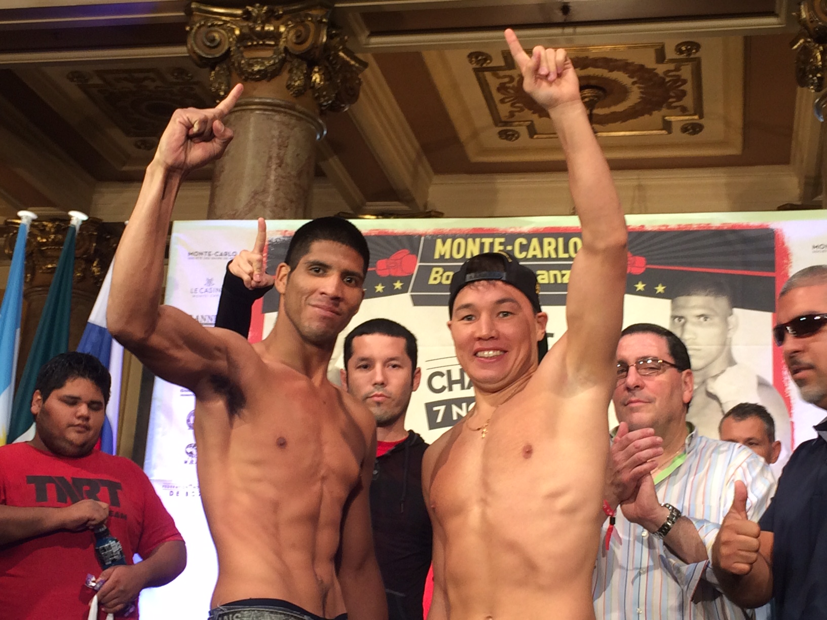 Provodnikov_Rodriguez weigh in